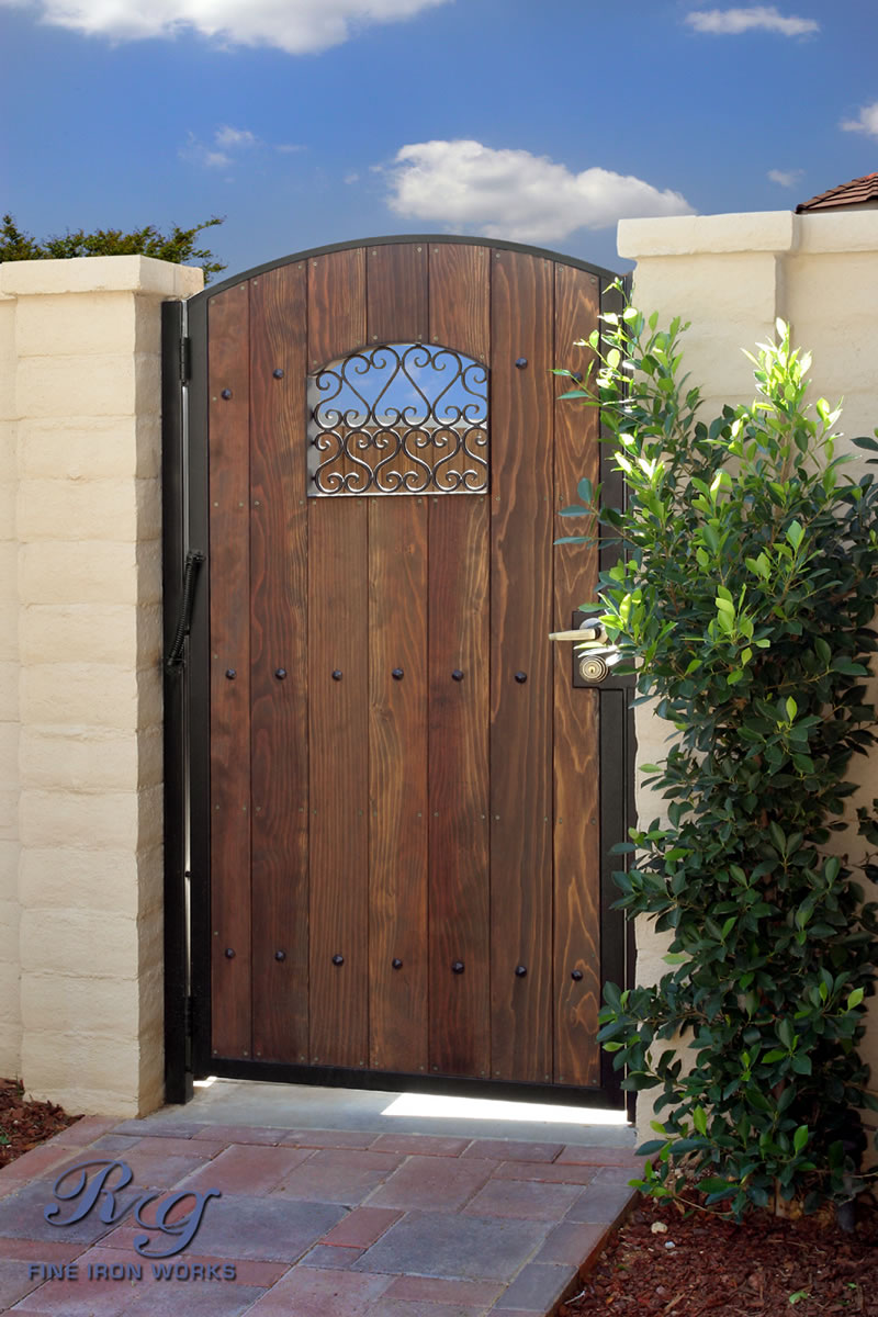 Rg Fine Ironworks Gallery Wood Amp Iron Gates