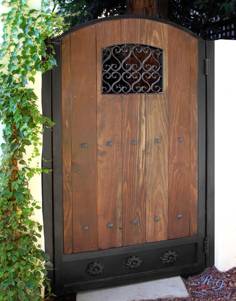 Rg Fine Ironworks Gallery Wood Amp Iron Gates